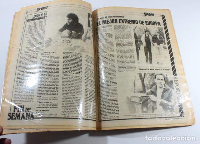 Coleccionismo deportivo: PERIODICO DEPORTIVO SPORT Nº 1, BARCELONA 3 NOVIEMBRE 1979, COMPLETO ESTA PLASTIFICADO, FUTBOL - Foto 3 - 137153266