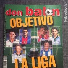 Coleccionismo deportivo: DON BALÓN 1240 - SERGI BARCELONA - GAMARRA ATLÉTICO - BRASIL 1970 - SHEVCHENKO. Lote 137179312