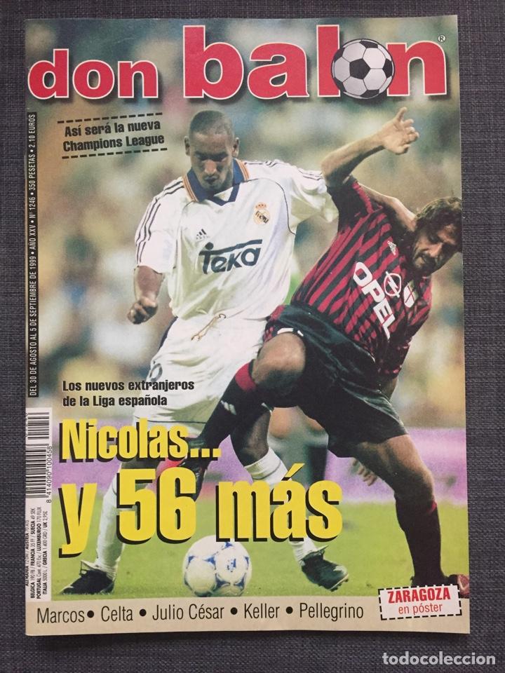 Coleccionismo deportivo: Don balón 1246 - Póster Zaragoza - Celta Vigo - España Juvenil 54 - Keller - Champions - Supercopa E - Foto 2 - 137199210