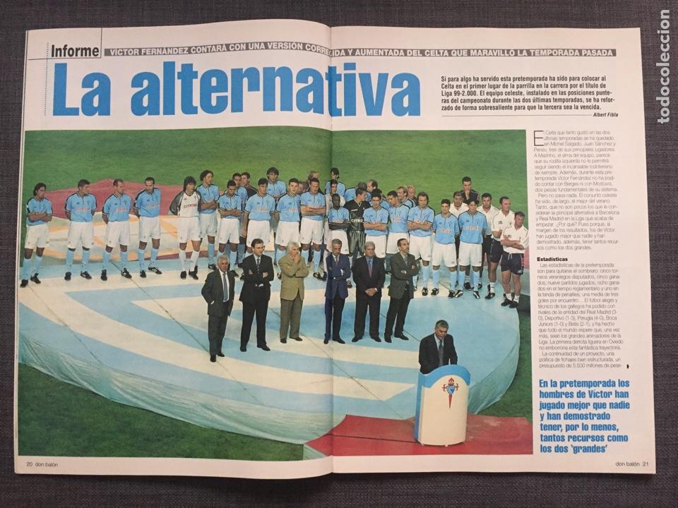 Coleccionismo deportivo: Don balón 1246 - Póster Zaragoza - Celta Vigo - España Juvenil 54 - Keller - Champions - Supercopa E - Foto 3 - 137199210