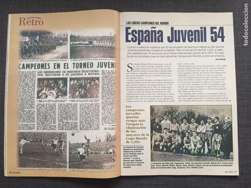 Coleccionismo deportivo: Don balón 1246 - Póster Zaragoza - Celta Vigo - España Juvenil 54 - Keller - Champions - Supercopa E - Foto 4 - 137199210