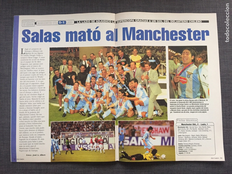 Coleccionismo deportivo: Don balón 1246 - Póster Zaragoza - Celta Vigo - España Juvenil 54 - Keller - Champions - Supercopa E - Foto 6 - 137199210
