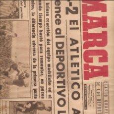 Coleccionismo deportivo: 3011. DIARIO MARCA. 7 DE MARZO DE 1944. AT. AVIAVION + CORUÑA + VALENCIA + ESPAÑOL + CELTA + BILBAO. Lote 137232010