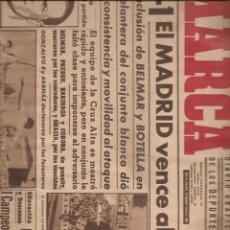 Coleccionismo deportivo: 3012. DIARIO MARCA. 14.3.1944: SEVILLA + AVIACION + ESPAÑOL + BILBAO + CELTA + MADRID + OVIEDO.... Lote 137233146