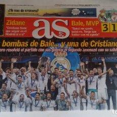 Coleccionismo deportivo: AS REAL MADRID GANA SU DECIMO TERCERA CHAMPIONS. Lote 137270058