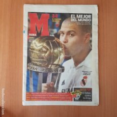 Coleccionismo deportivo: DIARIO MARCA REAL MADRID CAMPEON INTERCONTINENTAL 2002 - COPA DEL MUNDO DE CLUBS 02 - RONALDO. Lote 137295630