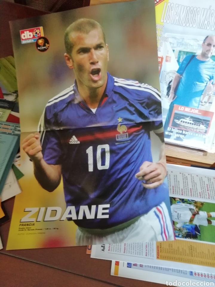 Coleccionismo deportivo: Don balon- posters Zinedine Zidane - Foto 2 - 137334628