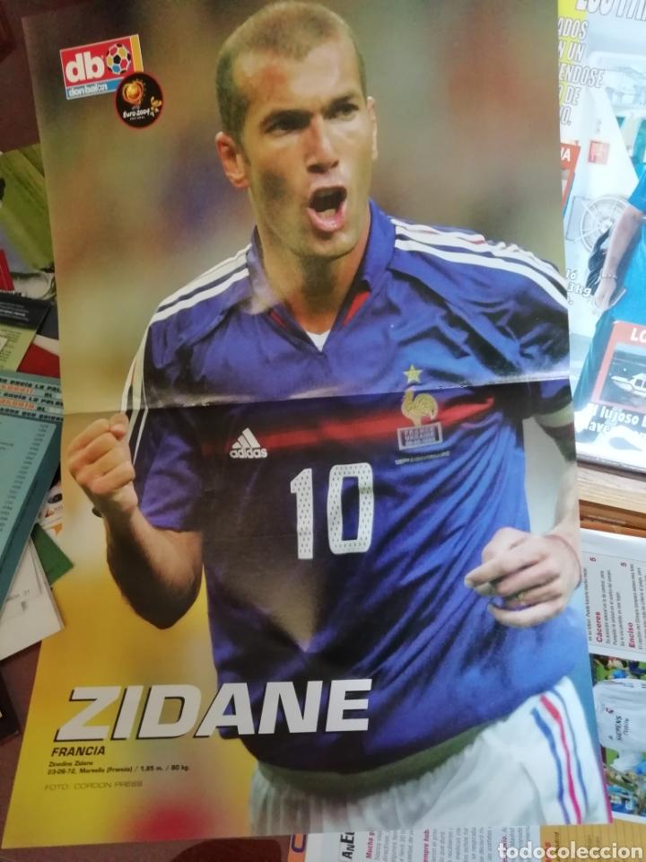 Coleccionismo deportivo: Don balon- posters Zinedine Zidane - Foto 3 - 137334628