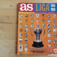 Coleccionismo deportivo: LIGA 98/99 AS GUÍA COMPLETA. Lote 137334714