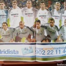 Coleccionismo deportivo - Don balon- poster Real Madrid cf 2003 2004 - 137361036