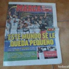 Coleccionismo deportivo: MARCA. REAL MADRID. MUNDIAL DE CLUBES. 17 DE DICIEMBRE DEL 2017.. Lote 137375562