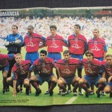 Coleccionismo deportivo: REVISTA DON BALON 1249 - PÓSTER NUMANCIA - CATANHA - RAYO - REAL MADRID YE YE - COPAS EUROPEAS. Lote 53861687
