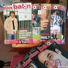 Coleccionismo deportivo: DON BALON. AÑO 2003. LOTE 10 REVISTAS.. Lote 137461726