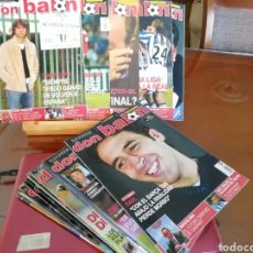 Coleccionismo deportivo: DON BALON AÑO 2004. LOTE 12 REVISTAS..... Lote 137462932
