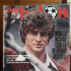 Coleccionismo deportivo: REVISTA DON BALÓN Nº 263,CON POSTER DEL VALENCIA, AÑO 1980. Lote 283203393