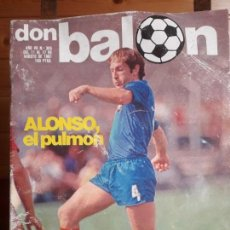 Coleccionismo deportivo: DON BALON Nº 305 1981 GRAN REPORTAJE COLOR SPORTING DE GIJON 81 82- ALONSO REAL SOCIEDAD. Lote 137465922