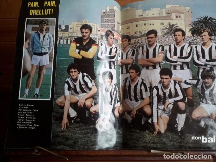 Coleccionismo deportivo: DON BALON 294 1 JUNIO 1981 QUINI VETADO JUANITO SHOW ALMERIA CABEZA ORELLUT POSTER ASCENSO CASTELLO - Foto 3 - 137466018