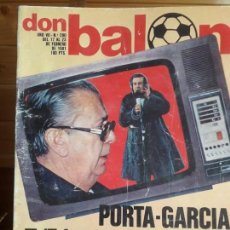 Coleccionismo deportivo: REVISTA DON BALÓN Nº 280, CON POSTER DEL VALLADOLID, AÑO 1981. Lote 283203493