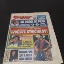 Coleccionismo deportivo: SPORT. N° 4.993. 3/10/1993. AT MADRID REAL MADRID STOICHKOV POLI KASPAROV VS SHORT.. Lote 137479066