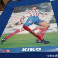 Coleccionismo deportivo: POSTER DON BALON ( KIKO ) 97/ 98 ATLETICO DE MADRID . Lote 137867094