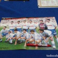 Coleccionismo deportivo: POSTER DON BALON ( REAL ZARAGOZA ) 1995/96. Lote 137867106
