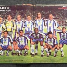 Coleccionismo deportivo: DON BALÓN 1258 - PÓSTER MALAGA - ESPAÑA VS ARGENTINA - KOEMAN - CENTENARIO ESPANYOL. Lote 137880114