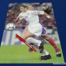 Coleccionismo deportivo: POSTER DON BALON ( TOTTI ) EURO 2000. Lote 137948534