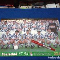 Coleccionismo deportivo: POSTER DON BALON ( REAL SOCIEDAD ) 97/98. Lote 137948734
