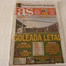 Colecionismo desportivo: AS(29-10-18) !!!BARÇA 5 R.MADRID 1 !!!! SIN MESSI Y CON UN SUAREZ GOLEADOR!!!! . Lote 138003634