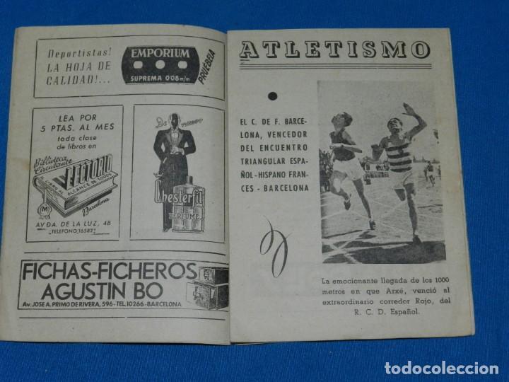 Coleccionismo deportivo: VIDA DEPORTIVA SEMANARIO ILUSTRADO DE INFORMACION EQUIPO FC BARCELONA AÑO I OBSEQUIO - Foto 2 - 138044750