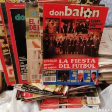 Coleccionismo deportivo: DON BALON 1990. 6 REVISTAS. Lote 138078530