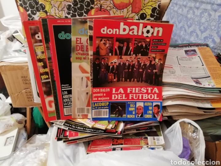 Coleccionismo deportivo: Don balon 1990. 6 revistas - Foto 2 - 138078530