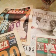 Coleccionismo deportivo: DIEGO MARADONA. ESPECIAL REYES SIGLO XX. MARCA. SUPLEM. Lote 138237289