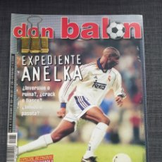 Coleccionismo deportivo: DON BALÓN 1260 - ANELKA - G. LÓPEZ - DEPORTIVO - PELÉ - COPA INTERCONTINENTAL - DECO. Lote 138643146