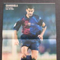 Coleccionismo deportivo: DON BALÓN 1274 - PÓSTER GUARDIOLA - REDONDO - STANLEY MATTHEWS - ANTIC ATLÉTICO - COPAS EUROPEAS. Lote 138666889