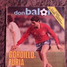 Coleccionismo deportivo: REVISTA DON BALON 445. ABRIL 1984. .GORDILLO FURIA Y CLASE.. Lote 138710138
