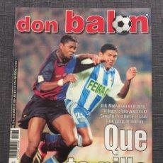 Coleccionismo deportivo: DON BALÓN 1275 - PÓSTER ETXEBERRIA - BARCELONA - RONALDINHO - REVIVO - COPAS EUROPEAS - HESKEY. Lote 138744965
