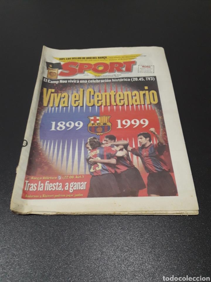 SPORT. N° 6.859. 28/11/1998. F.C.BARCELONA CENTENARIO 1899/1999. (Coleccionismo Deportivo - Revistas y Periódicos - Sport)