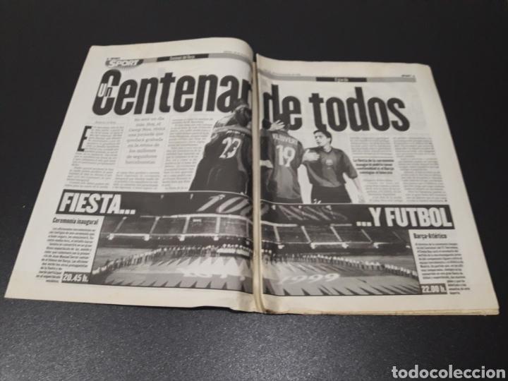 Coleccionismo deportivo: SPORT. N° 6.859. 28/11/1998. F.C.BARCELONA CENTENARIO 1899/1999. - Foto 2 - 138778202