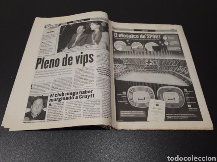 Coleccionismo deportivo: SPORT. N° 6.859. 28/11/1998. F.C.BARCELONA CENTENARIO 1899/1999. - Foto 5 - 138778202