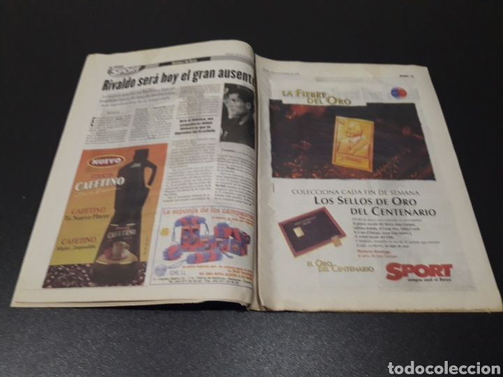 Coleccionismo deportivo: SPORT. N° 6.859. 28/11/1998. F.C.BARCELONA CENTENARIO 1899/1999. - Foto 6 - 138778202