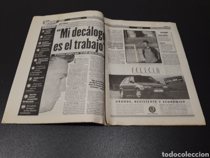 Coleccionismo deportivo: SPORT. N° 6.859. 28/11/1998. F.C.BARCELONA CENTENARIO 1899/1999. - Foto 7 - 138778202