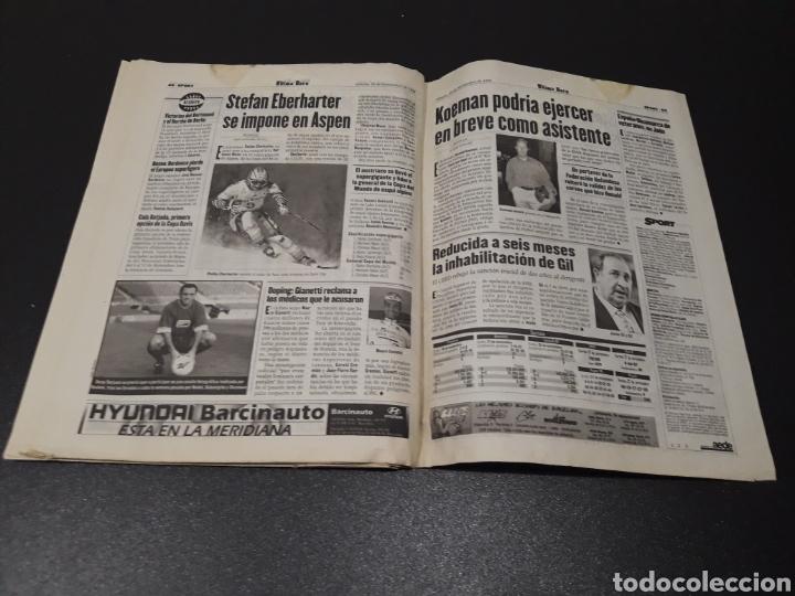 Coleccionismo deportivo: SPORT. N° 6.859. 28/11/1998. F.C.BARCELONA CENTENARIO 1899/1999. - Foto 16 - 138778202