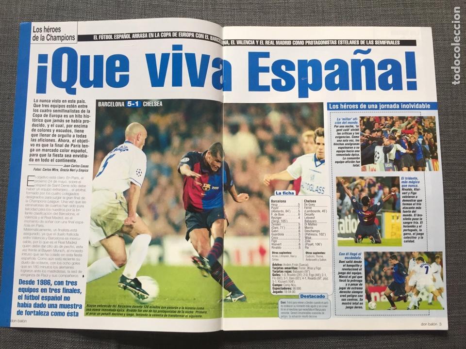 Coleccionismo deportivo: Don balón 1280 - Copas Europeas - Póster Gerard - Juanele - Khan - Elber - Juventus - Foto 2 - 138870650