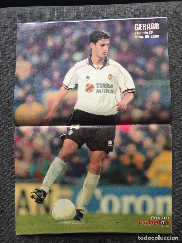 Coleccionismo deportivo: Don balón 1280 - Copas Europeas - Póster Gerard - Juanele - Khan - Elber - Juventus - Foto 5 - 138870650