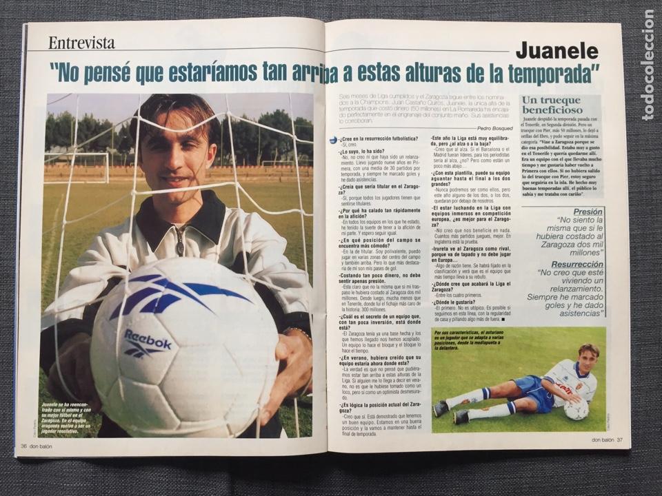 Coleccionismo deportivo: Don balón 1280 - Copas Europeas - Póster Gerard - Juanele - Khan - Elber - Juventus - Foto 6 - 138870650