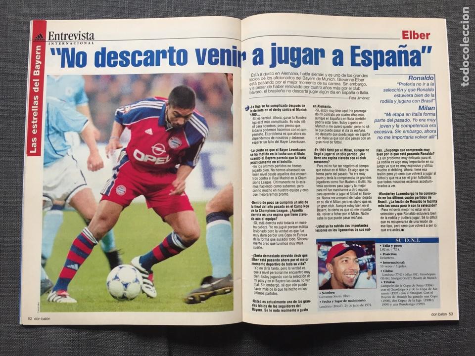 Coleccionismo deportivo: Don balón 1280 - Copas Europeas - Póster Gerard - Juanele - Khan - Elber - Juventus - Foto 8 - 138870650