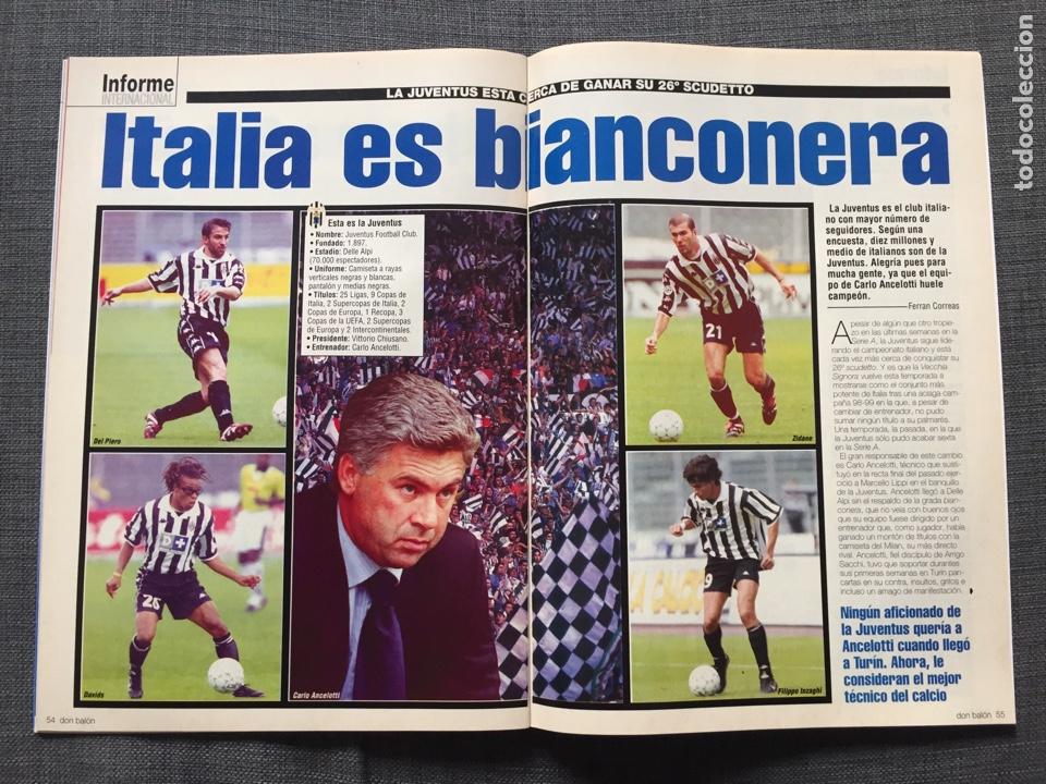 Coleccionismo deportivo: Don balón 1280 - Copas Europeas - Póster Gerard - Juanele - Khan - Elber - Juventus - Foto 9 - 138870650