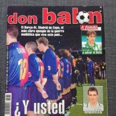Coleccionismo deportivo: DON BALÓN 1281 - PÓSTER REDONDO - COPA DEL REY - ALFONSO BETIS - MUNITIS RACING - B. MÚNICH - RANGER. Lote 138871153