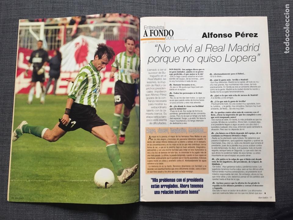 Coleccionismo deportivo: Don balón 1281 - Póster Redondo - Copa del Rey - Alfonso Betis - Munitis Racing - B. Múnich - Ranger - Foto 3 - 138871153